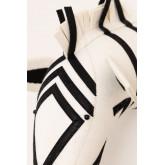 Bambini zebra testa di animale, immagine in miniatura 4