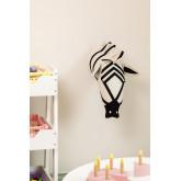 Bambini zebra testa di animale, immagine in miniatura 1