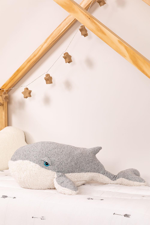 Balena di Peluche in cotone Wili Kids , immagine della galleria 1