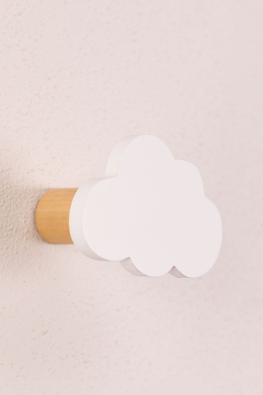Appendiabiti da parete in legno per bambini Paby, immagine della galleria 1