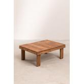 Tavolino da caffè in legno riciclato Devid, immagine in miniatura 2