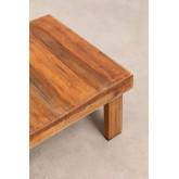 Tavolino da caffè in legno riciclato Devid, immagine in miniatura 5
