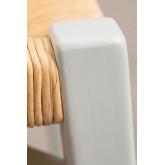 Sgabello basso in legno Uish, immagine in miniatura 5