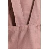 Grembiule in lino e cotone Violet, immagine in miniatura 4