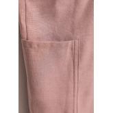 Grembiule in lino e cotone Violet, immagine in miniatura 5