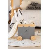 Carrello portaoggetti in legno Madys Kids, immagine in miniatura 1
