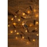 Ghirlanda decorativa a LED con pinze( 1,56 m) Pitres, immagine in miniatura 1