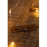 Ghirlanda decorativa a LED con pinze( 1,56 m) Pitres, immagine in miniatura 4