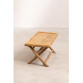 Tavolino rettangolare in bambù Samoa, immagine in miniatura 3