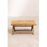 Tavolino rettangolare in bambù Samoa, immagine in miniatura 4