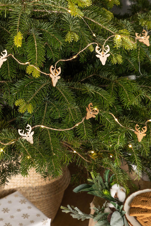 Ghirlanda natalizia LED (2,20 m) Linda, immagine della galleria 1