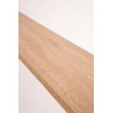 Scaffale da parete in legno di frassino Adamm, immagine in miniatura 4
