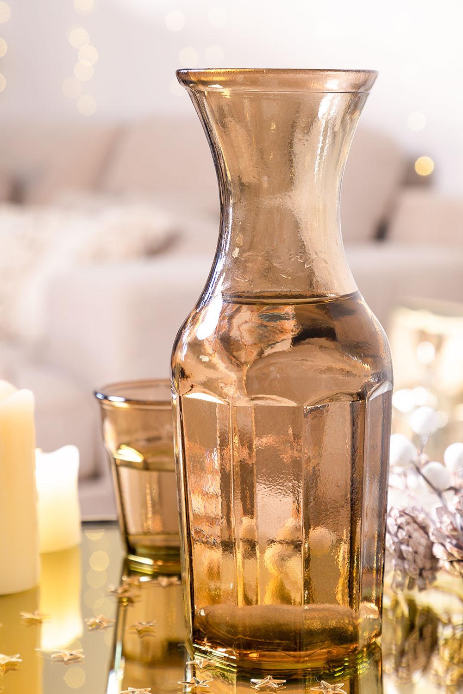 Bottiglia in vetro riciclato da 1 litro Kirk , immagine della galleria 1