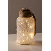 Vaso in vetro con luci LED Gada, immagine in miniatura 3