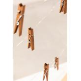 Ghirlanda decorativa a LED con pinze( 1,56 m) Pitres, immagine in miniatura 5