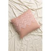 Cuscino con ricamo in cotone (45x45 cm) Mori, immagine in miniatura 1