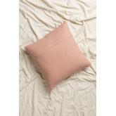 Cuscino con ricamo in cotone (45x45 cm) Mori, immagine in miniatura 2