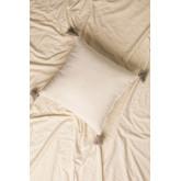 Cuscino con ricamo in cotone (45x45 cm) Cova, immagine in miniatura 2