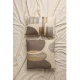 Cuscino in cotone con ricamo Aspen, immagine in miniatura 1