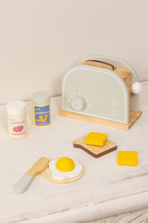 Tostapane di legno per bambini Buter Kids, immagine della galleria 1