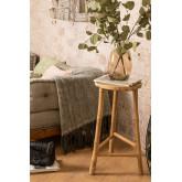 Sgabello alto in bambù Barlou, immagine in miniatura 1