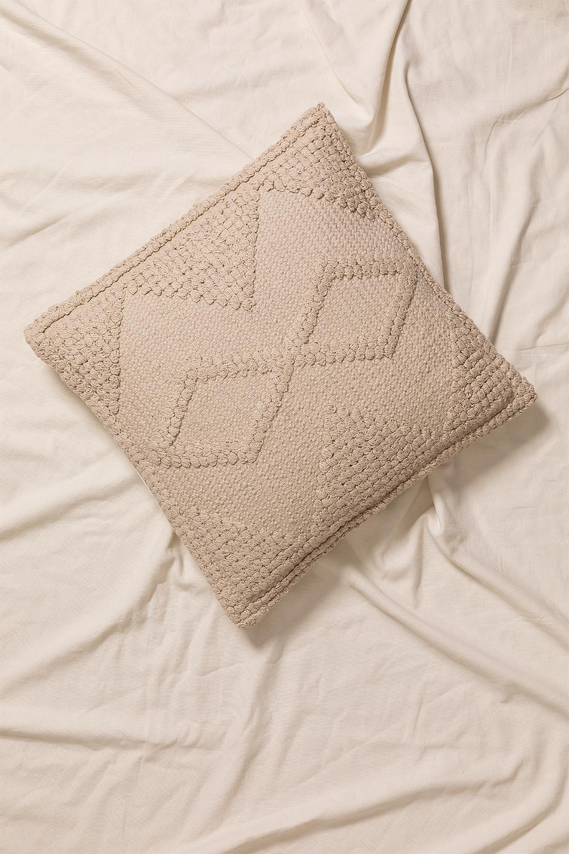 Cuscino quadrato in cotone (50x50 cm) Pavad, immagine della galleria 1