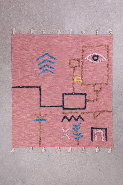 Coperta Plaid in Cotone Azral, immagine della galleria 1