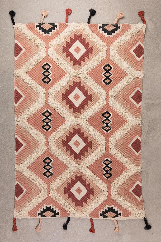 Tappeto in cotone (210x120 cm) Yude, immagine della galleria 1