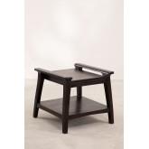 Tavolino Milen in legno di teak, immagine in miniatura 2