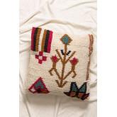 Federa cuscino quadrato in cotone (50x50 cm)Arbe, immagine in miniatura 1