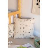 Cuscino quadrato in cotone (45x45 cm) Indi Kids, immagine in miniatura 1
