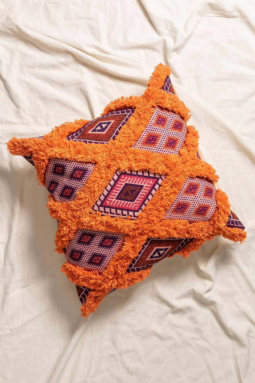 Federa Cuscino quadrato in cotone (50x50 cm) Kälu, immagine della galleria 1