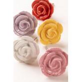 Set di 2 pomelli in ceramica Rosa, immagine in miniatura 4