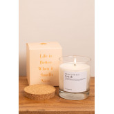 Candela Aromatica (200 gr) Words Collection, immagine in miniatura 2