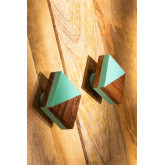 Set di 2 maniglie Celyn, immagine in miniatura 2