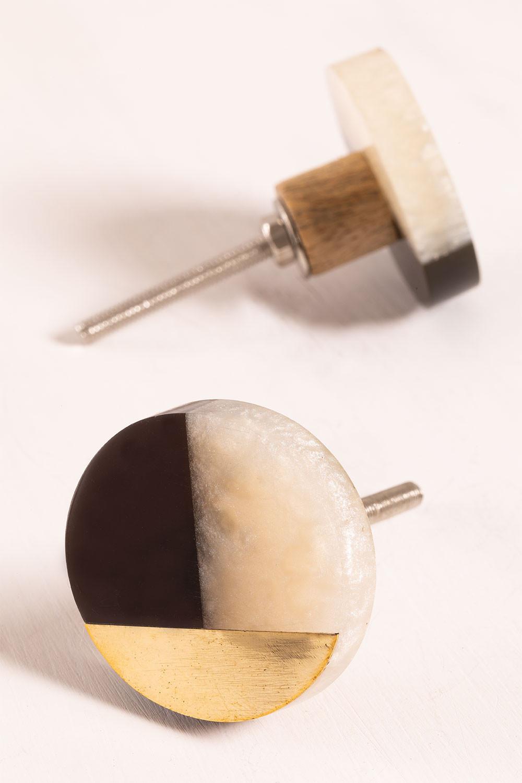 Set di 2 maniglie Aryc, immagine della galleria 1