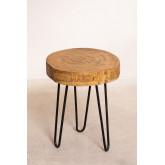 Tavolino Kolej in legno naturale, immagine in miniatura 2