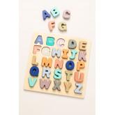 Puzzle con lettere di legno Zetin Kids, immagine in miniatura 1