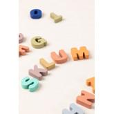 Puzzle con lettere di legno Zetin Kids, immagine in miniatura 4
