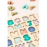 Puzzle con lettere di legno Zetin Kids, immagine in miniatura 3