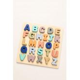 Puzzle con lettere di legno Zetin Kids, immagine in miniatura 2