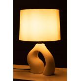 Lampada da Tavolo in Tessuto e Polietilene Mimba, immagine in miniatura 4