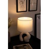 Lampada da Tavolo in Tessuto e Polietilene Mimba, immagine in miniatura 2