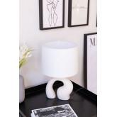 Lampada da Tavolo in Tessuto e Polietilene Mimba, immagine in miniatura 1