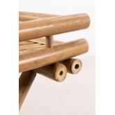 Tavolino pieghevole Wallis con vassoio in bambù, immagine in miniatura 6