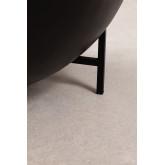 Tavolino rotondo in legno di mango e ferro (Ø90 cm) Muty, immagine in miniatura 5