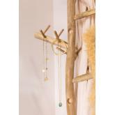 Albero di Natale in legno di teak Abies, immagine in miniatura 3