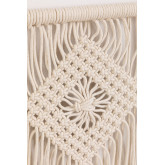 Arazzo con mensola a muro in cotone Luad, immagine in miniatura 3
