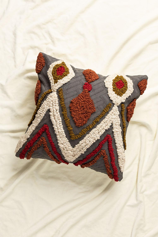 Cuscino Quadrato in Cotone (50x50 cm) Ibaz, immagine della galleria 1