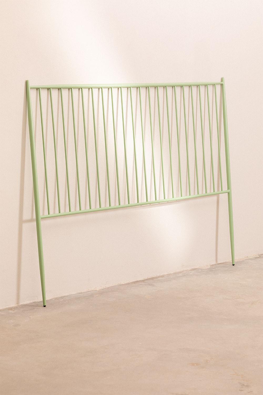 Testiera in metallo da 180 cm Nebi, immagine della galleria 1